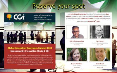 Global Innovation Ecosystem Summit 2020